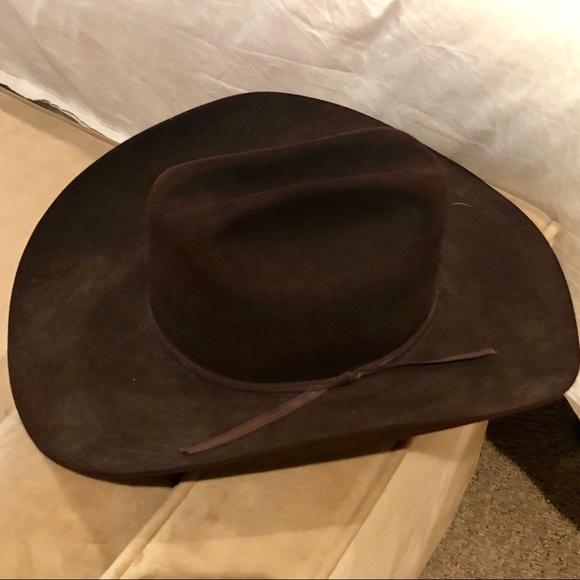 Resistol Brown Felt Cowboy Hat